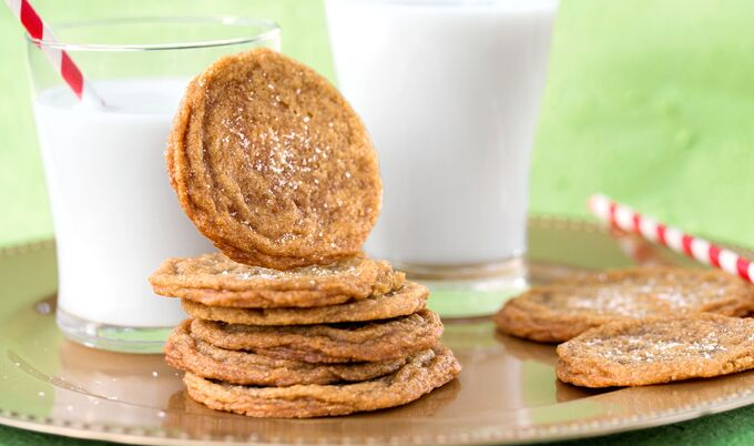 Vegan Salted Caramel Cookies