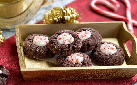 Chocolate Peppermint Buttons