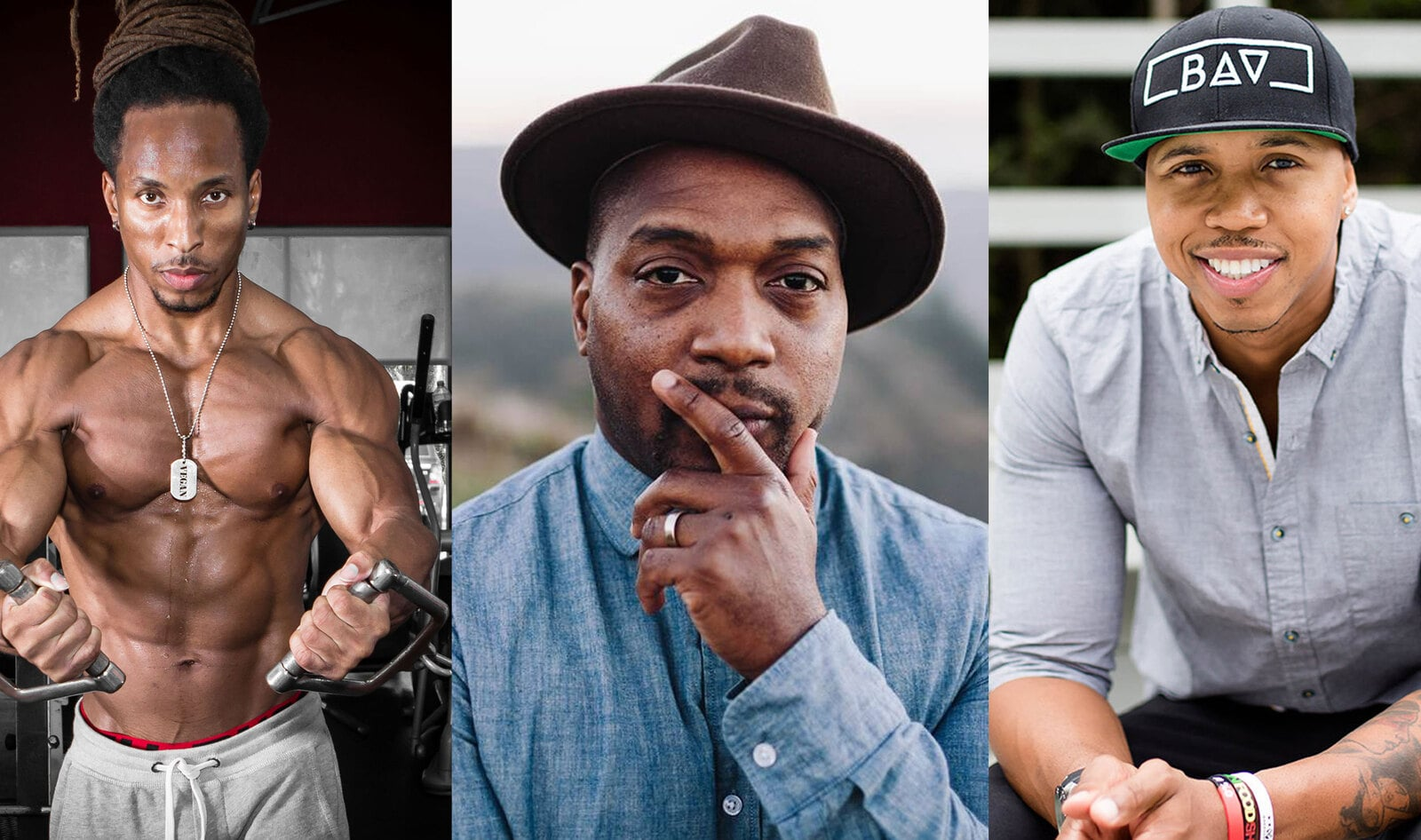 7 Vegan Men of Color You Need to Follow on Instagram Today