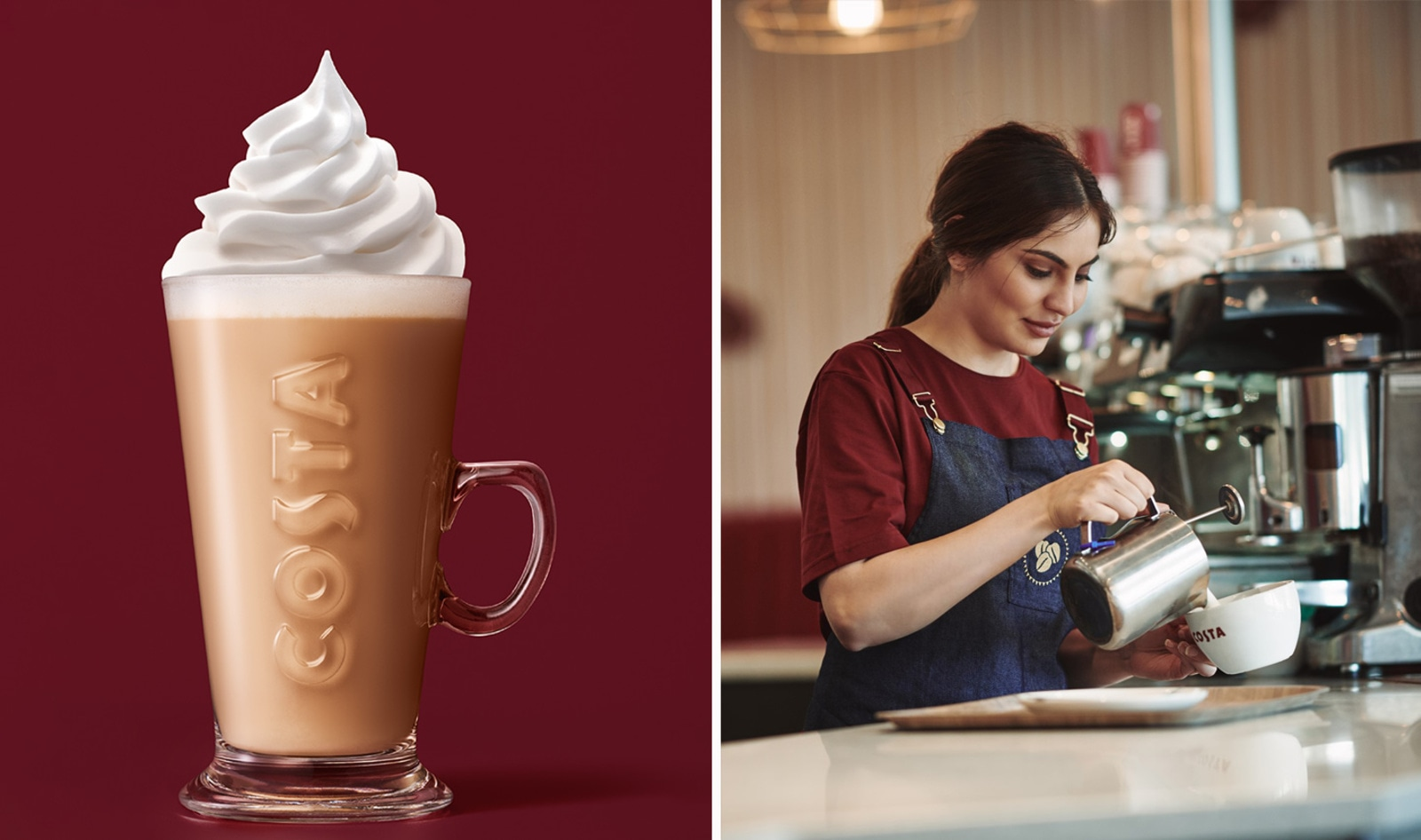 Costa Coffee Is Now Serving Vegan Whipped Cream at All 140 Locations in Poland