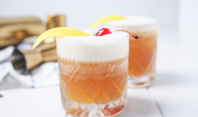 The Perfect Vegan Amaretto Sour