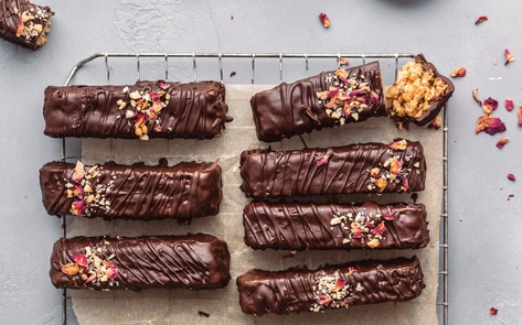Vegan Chocolate Crunch Bars