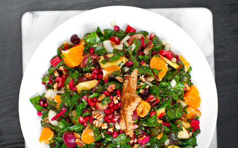 7 Winter Salads to Keep Your Vegan Resolutions