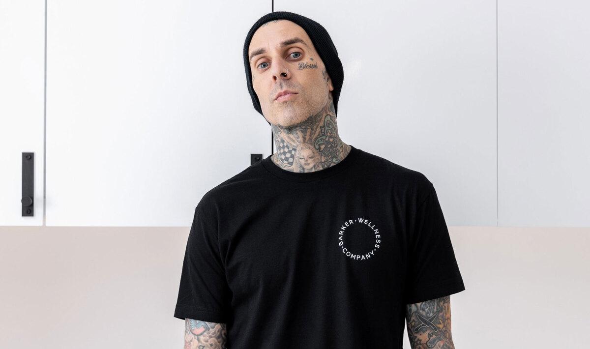 Blink-182 Drummer Travis Barker Just Launched a Vegan CBD Wellness Brand
