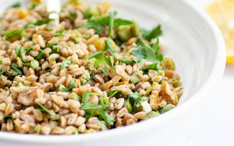 Vegan Winter Farro Salad