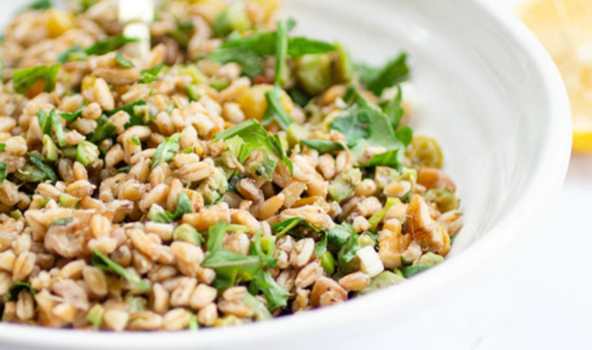 Vegan Winter Farro Salad