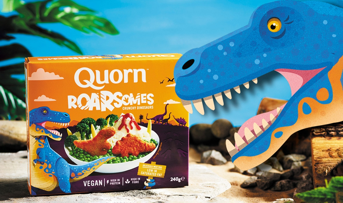 Drunk Fan Email Becomes Reality: Quorn Fans Now Have Dinosaur Vegan Nuggets