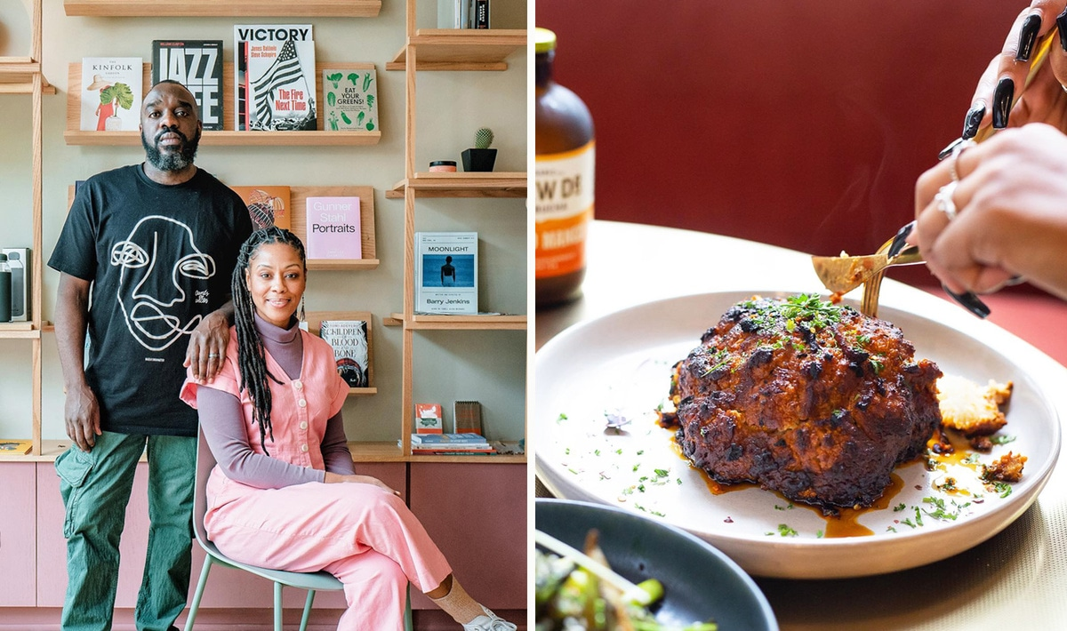 New Vegan Caribbean Restaurant and Community Center Just Opened in Brooklyn