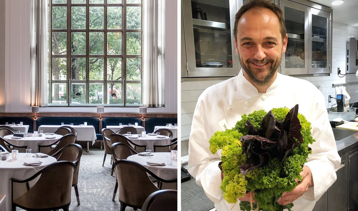 NYC's Top Restaurant Eleven Madison Park Goes Plant-Based