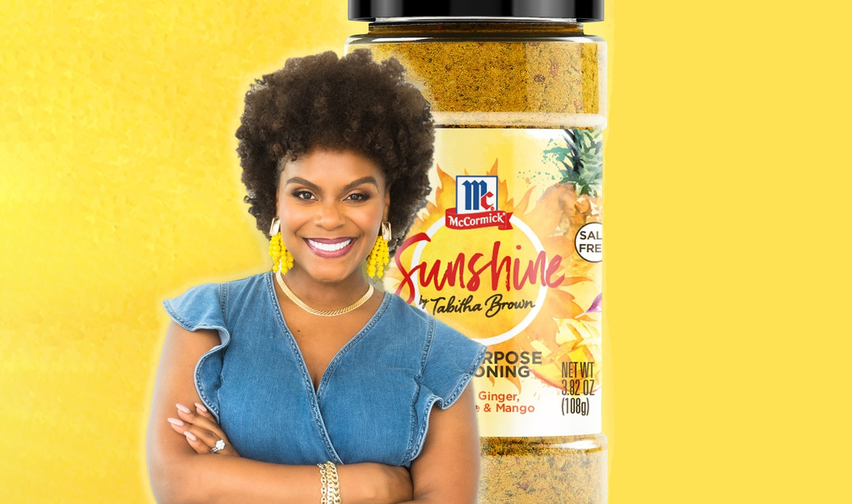 Vegan TikTok Star Tabitha Brown Now Has Her Own McCormick Spice Blend. Because That's Her Business