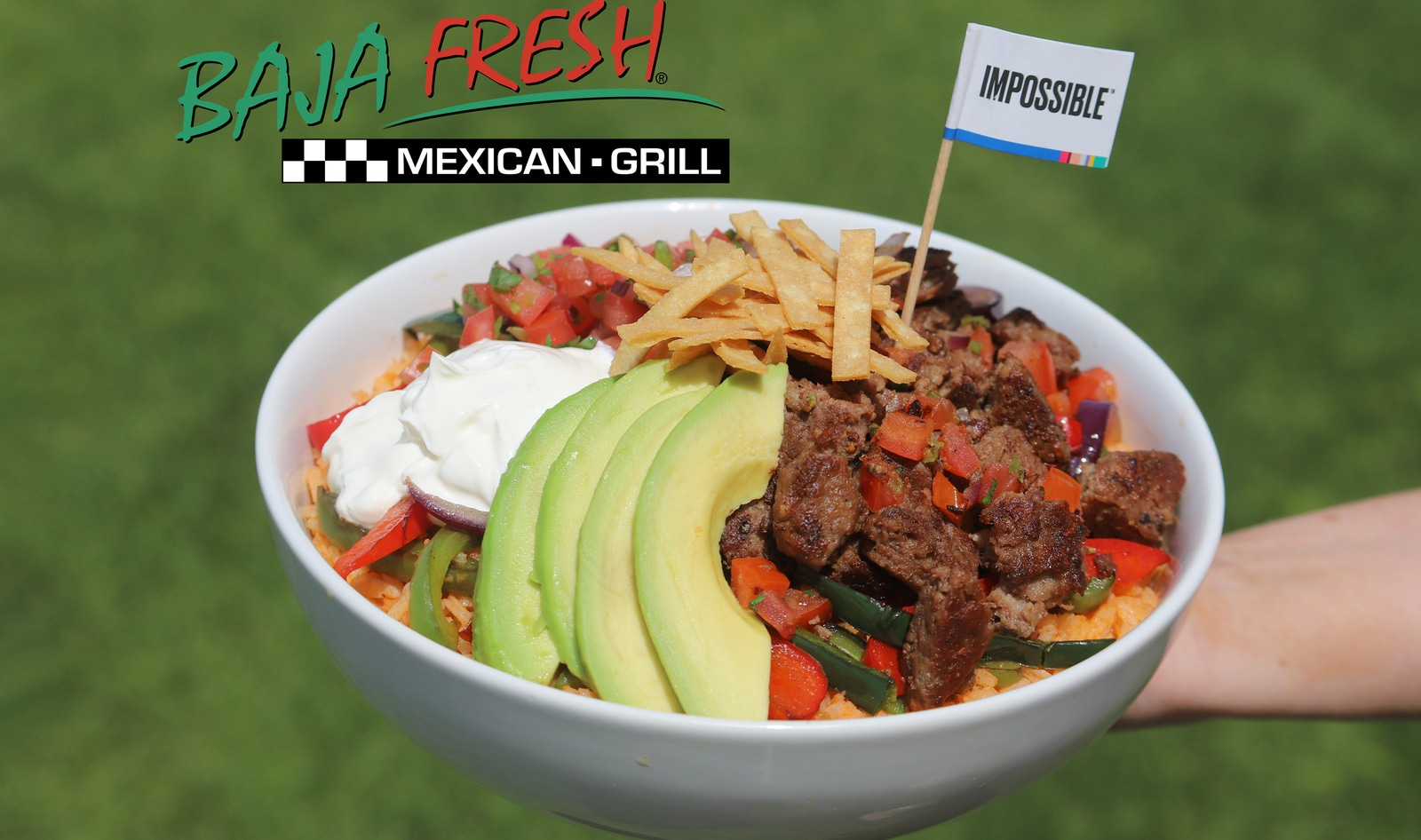 Meatless Impossible Tacos, Burritos, and Bowls Come to 80 Baja Fresh Locations