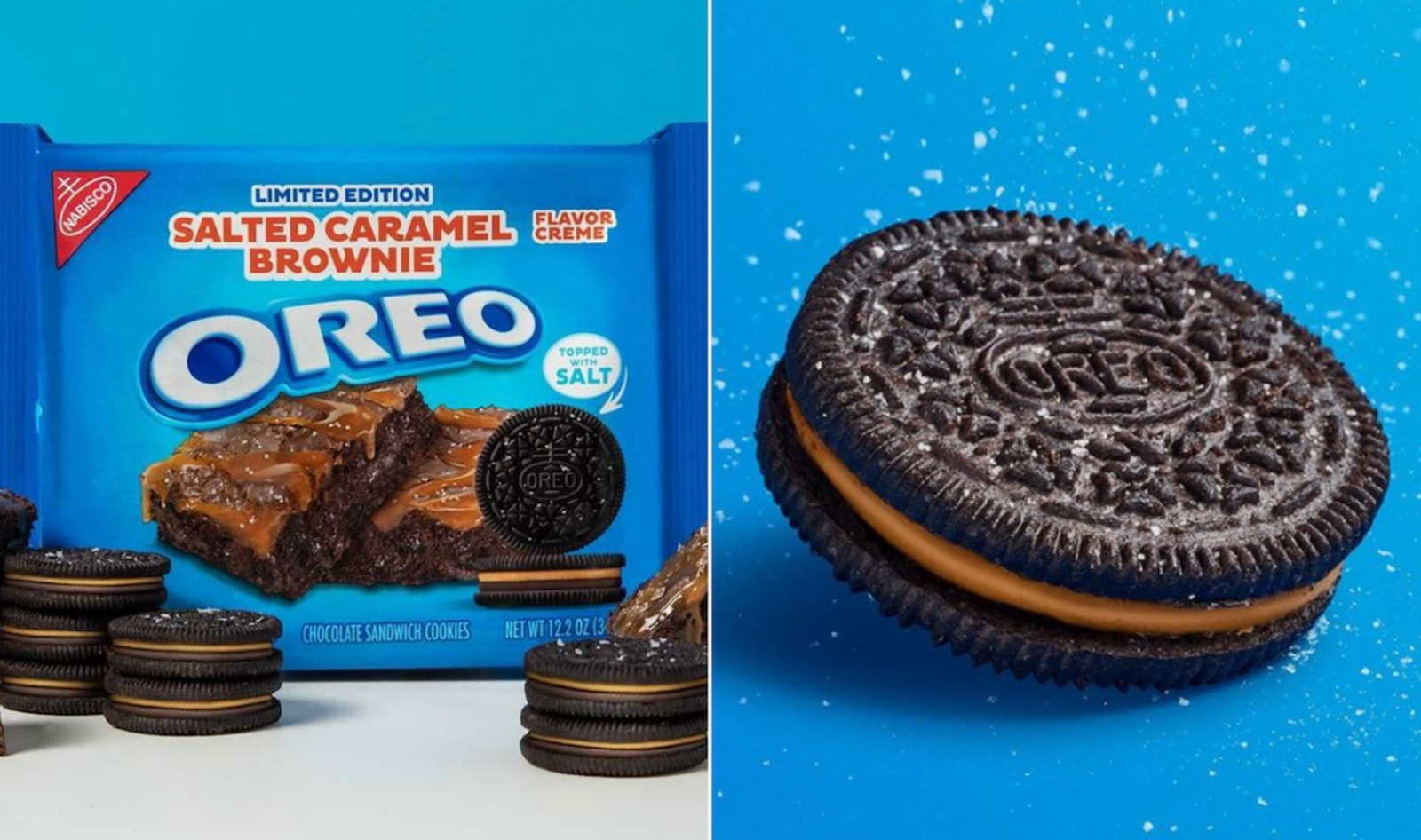 Oreos Just Launched A Salted Caramel Brownie Flavor and It's Still Accidentally Vegan