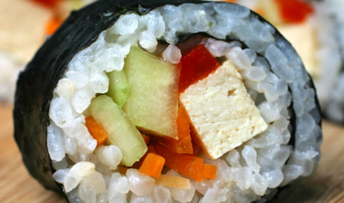 DIY Vegan California Roll
