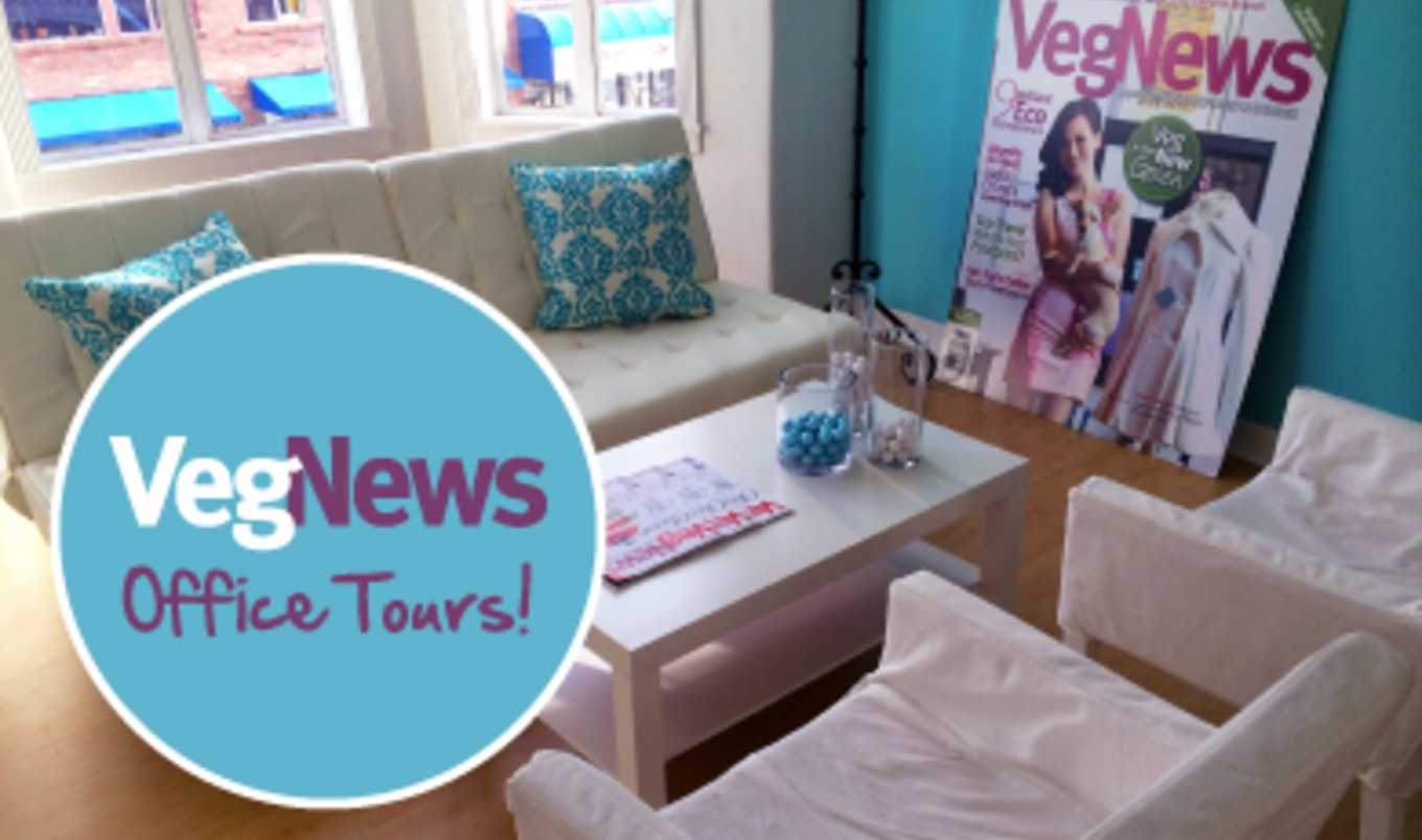 Subscriber Appreciation Month: VegNews' Office Tours!