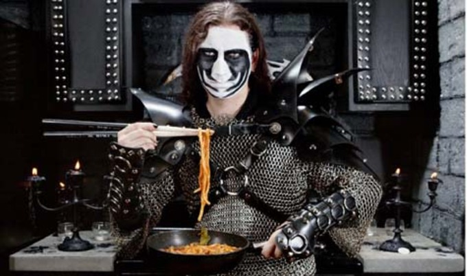 black metal chef