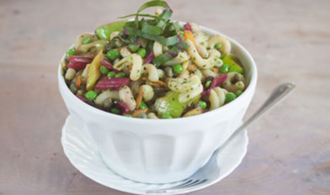 Early Spring Pasta Salad