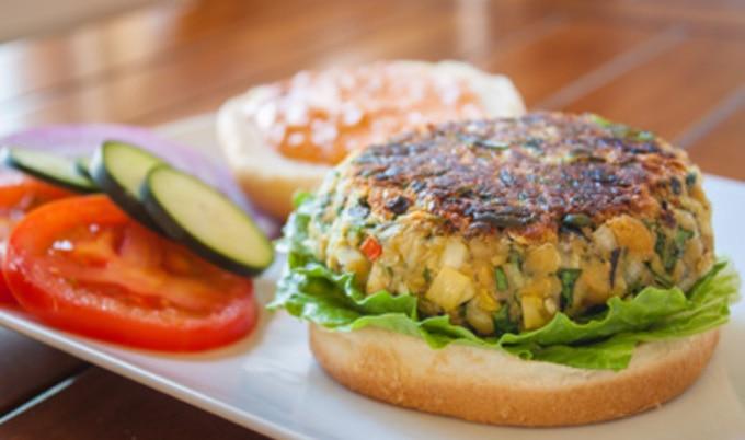 Mediterranean Veggie Burgers Vegnews
