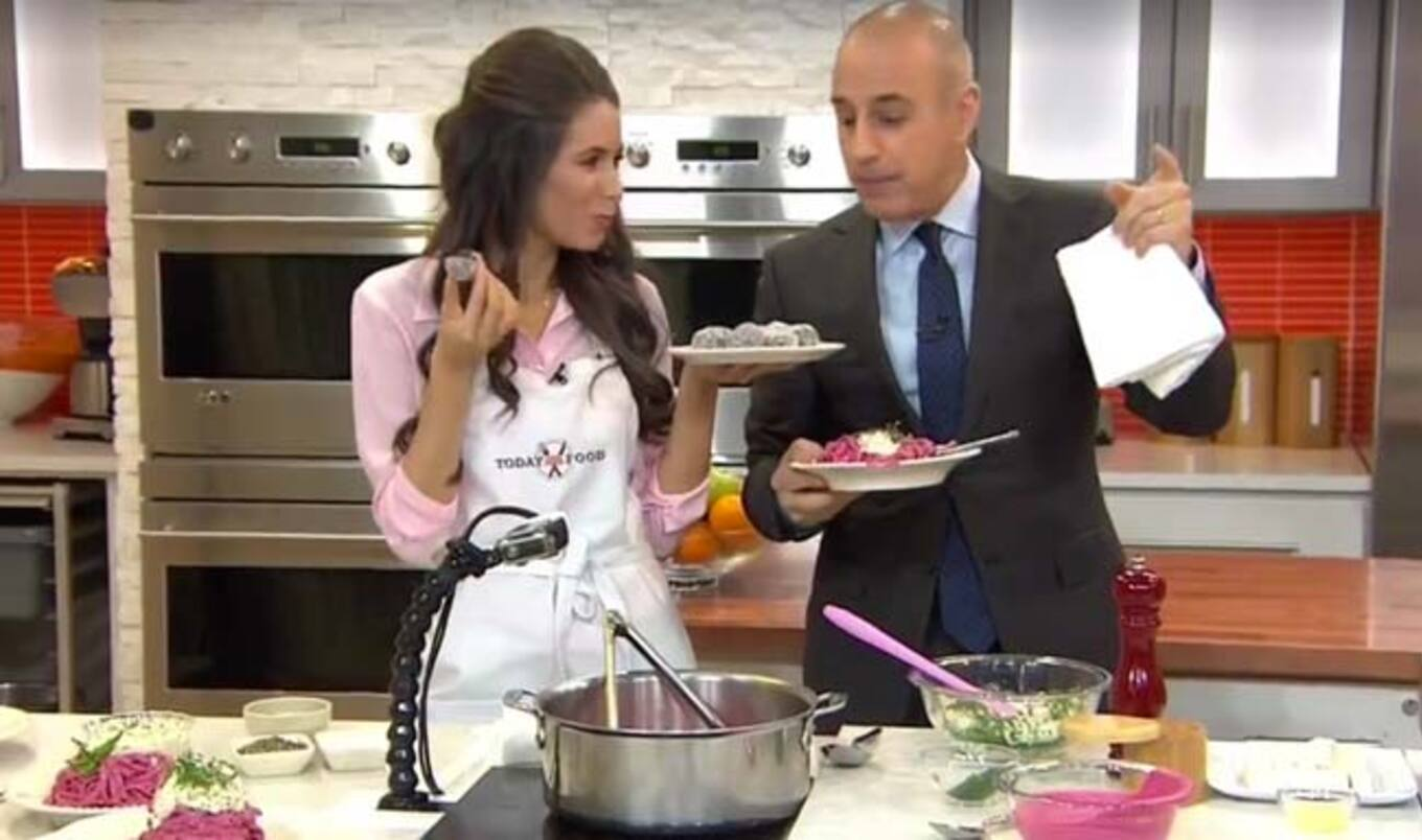 Vegan Chef Appears on <i>The Today Show</i>