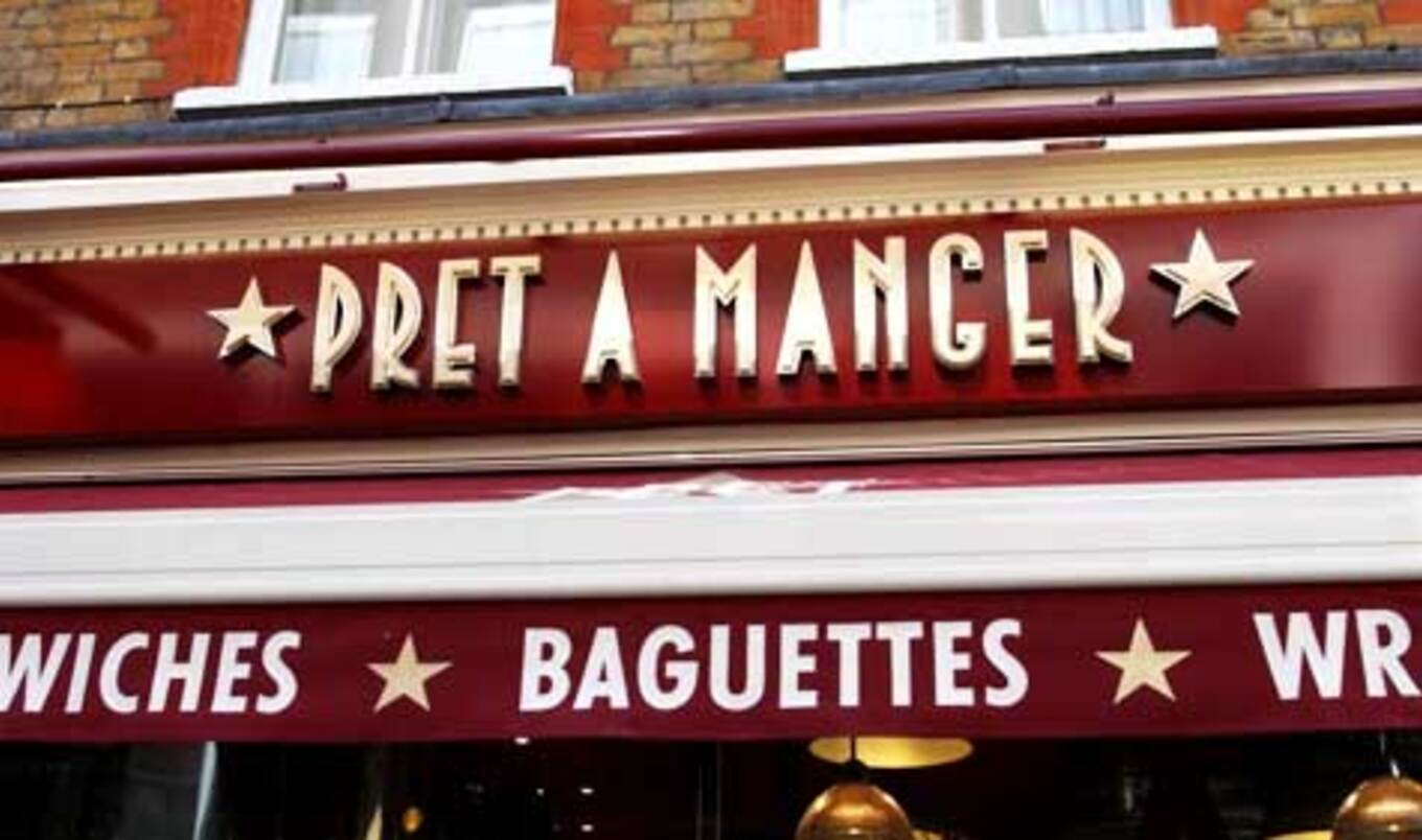 Pret a Manger Testing Vegetarian Pop-Up in London