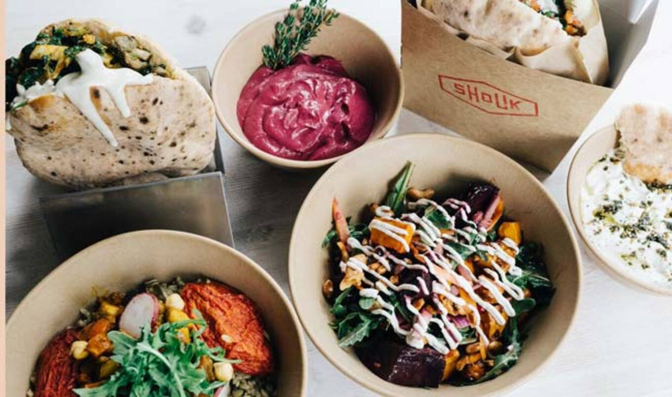 Vegan Fast-food Middle Eastern Eatery Opens in DC