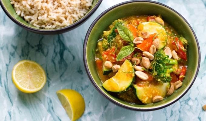 Vegan Thai Vegetable Curry