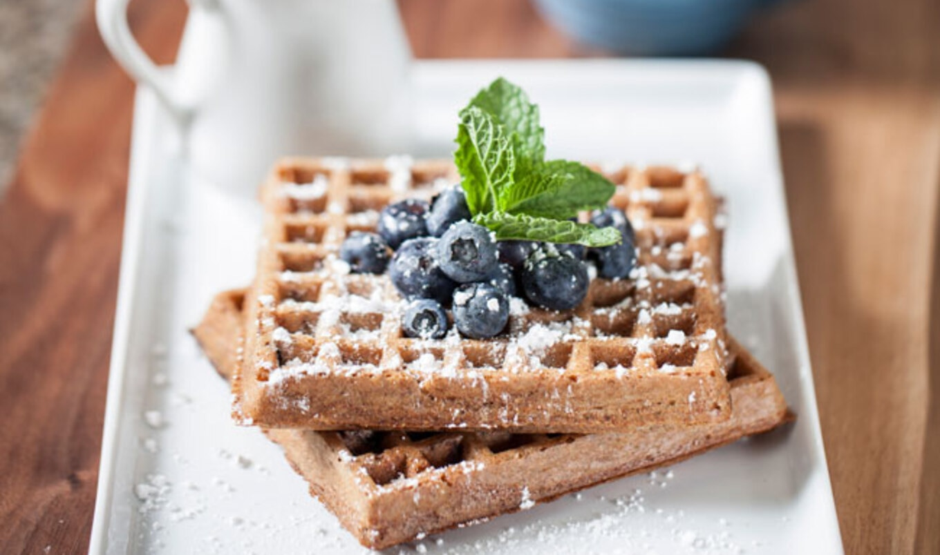 Sprouted Vegan Waffles