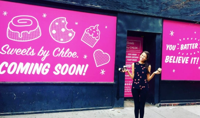 Chloe Coscarelli Announces NYC Vegan Bakery  c1b4e7b13e29