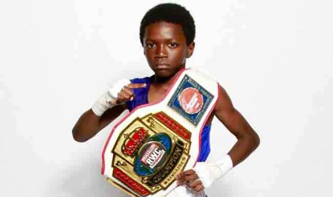 10-Year-Old Boxing Champ Is Vegan