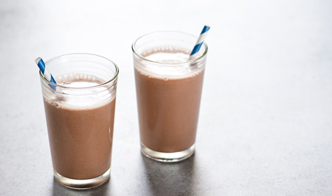 Vegan Coconut Chocolate Milk