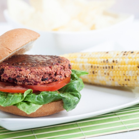 Vegan & Gluten-Free Big Barbecue Burgers