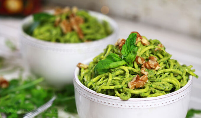Walnut, Arugula, & Basil Pesto