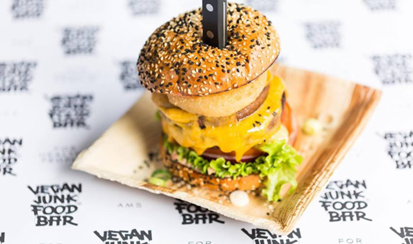 Vegan Junk Food Bar to Open in Amsterdam in April