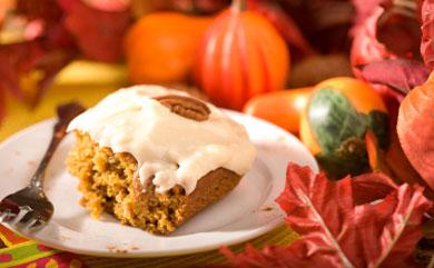 Sweet Potato Cake with Vegan Buttercream