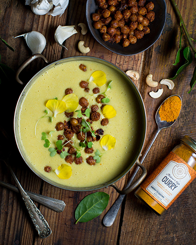 curried potato soup