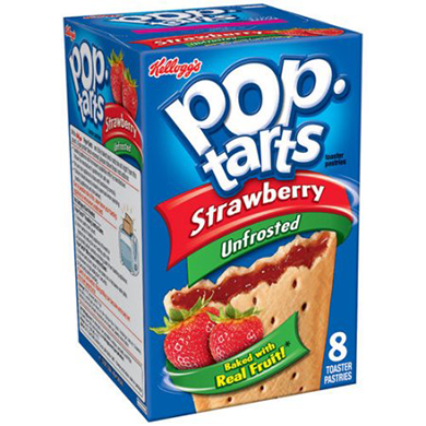 Unfrosted Pop-Tarts