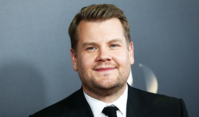 Comedian James Corden Ditches Meat