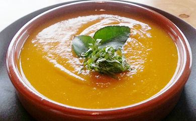 Coconut-Lime Kabocha Squash Soup