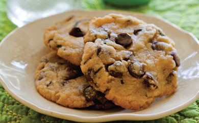 Mojito Chocolate Chip Cookies