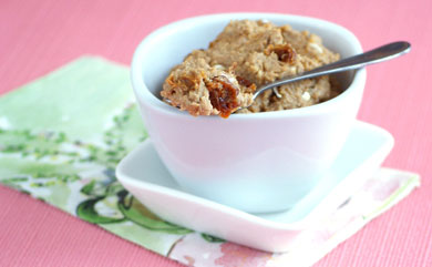 Healthy Oatmeal Raisin Cookie Dough