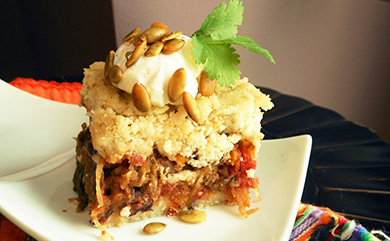 Vegan Tamale Pie