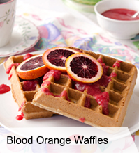 VegNews.BloodOrangeWaffles