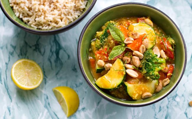 Vegan thai vegetable curry recipe forumfinder Choice Image